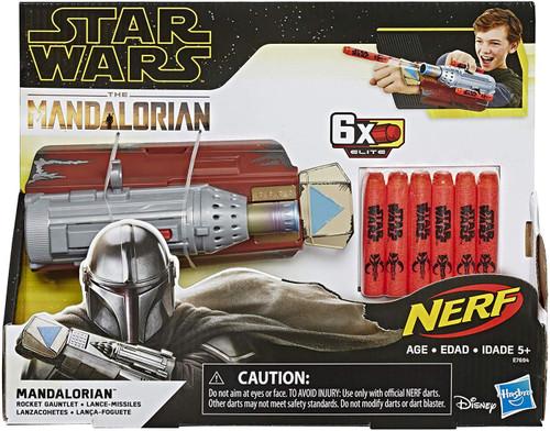 Star Wars The Mandalorian Nerf Mandalorian Rocket Gauntlet Blaster