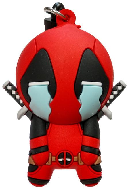 Marvel 3D Figural Foam Bag Clip Deadpool Series 4 Deadpool Crying Mystery Minifigure [Loose]