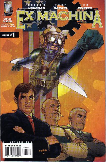 Wildstorm Signature Series Ex Machina #1 Comic Book [1st Printing]