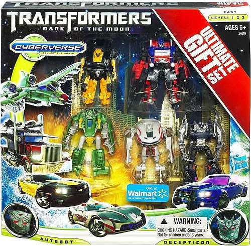 Dark of the Moon Cyberverse Transformers Ultimate Gift Set Exclusive Legion