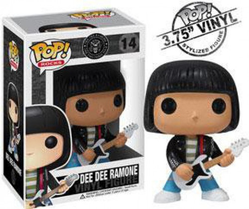 Funko The Ramones POP! Rocks Dee Dee Ramone Vinyl Figure #14