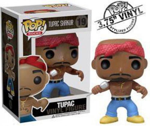 Funko Tupac Shakur POP! Rocks Tupac Vinyl Figure #19