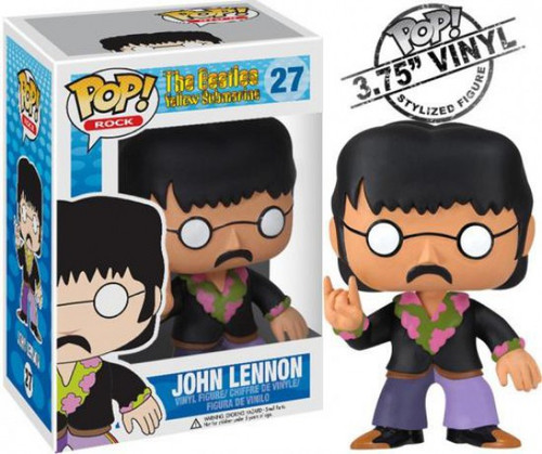 Funko The Beatles Yellow Submarine POP! Rocks John Lennon Vinyl Figure #27
