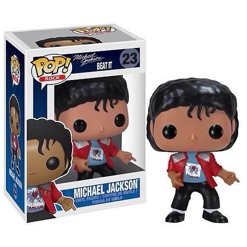 Funko POP! Rocks Michael Jackson Vinyl Figure #23 [Beat It, Damaged Package]