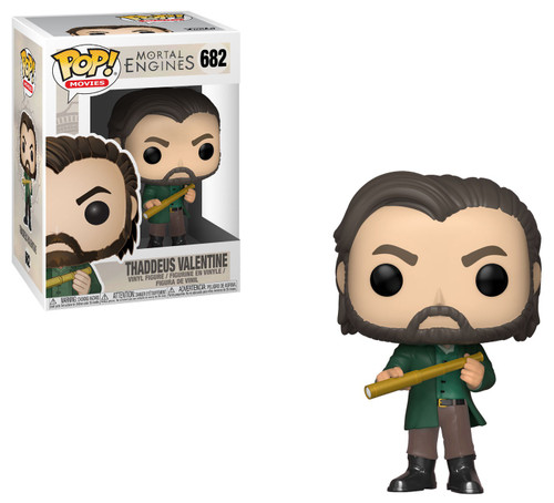Funko Mortal Engines POP! Movies Thaddeus Valentine Vinyl Figure #682 [Damaged Package]