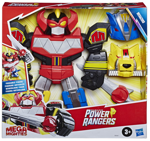 Power Rangers Playskool Heroes Mega Mighties Megazord Figure