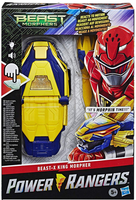 Power Rangers Beast Morphers Beast-X King Morpher Roleplay Toy