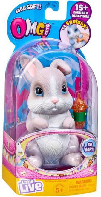 Little Live Pets OMG Pets Grey Bunny Rabbit Electronic Pet