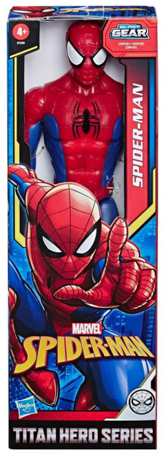 Marvel Titan Hero Series Blast Gear Spider-Man Action Figure [Basic]