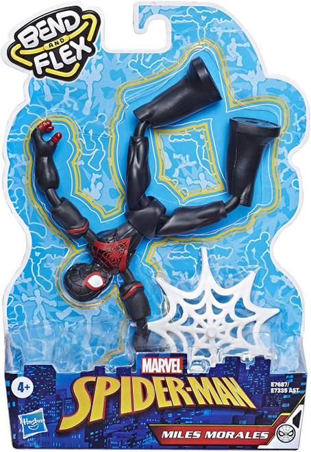 Marvel Spider-Man Bend & Flex Miles Morales Action Figure