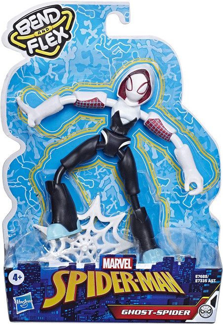Marvel Spider-Man Bend & Flex Ghost-Spider Action Figure