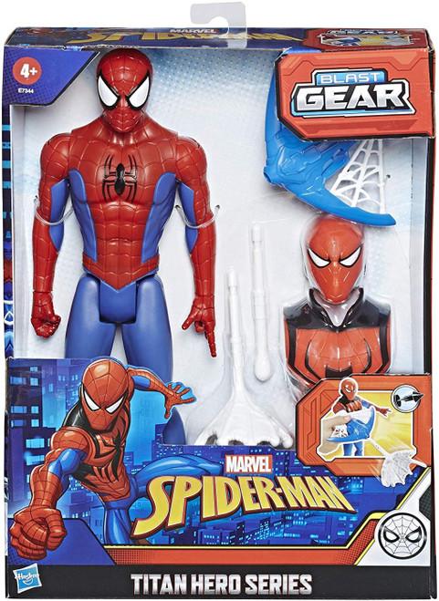 Marvel Titan Hero Series Blast Gear Spider-Man Action Figure [Blast Gear]