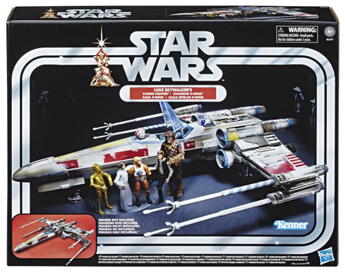 Star Wars Vintage Collection Vehicles Luke Skywalker's X-Wing Fighter Action Figure Vehicle