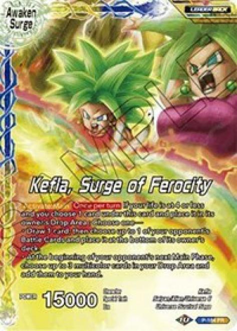 Dragon Ball Super Collectible Card Game Promo Kefla // Kefla, Surge of Ferocity P-184