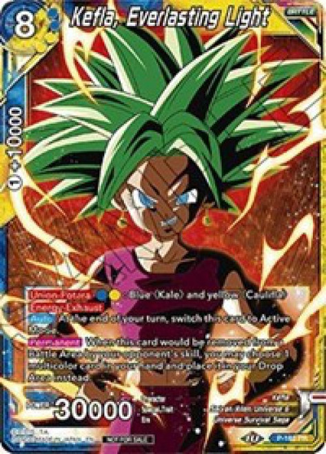 Dragon Ball Super Collectible Card Game Promo Kefla, Everlasting Light P-185