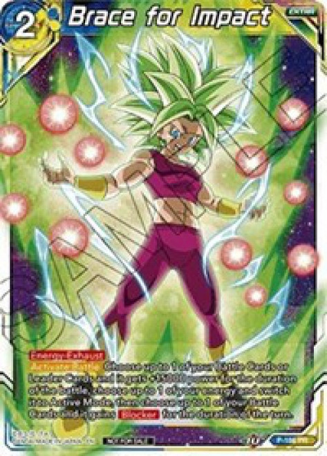 Dragon Ball Super Collectible Card Game Promo Brace for Impact P-186