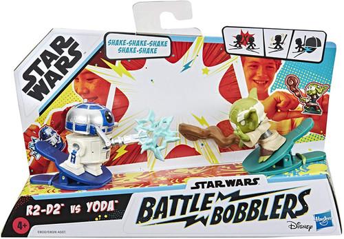 Star Wars Battle Bobblers Yoda & R2-D2 Mini Figure 2-Pack
