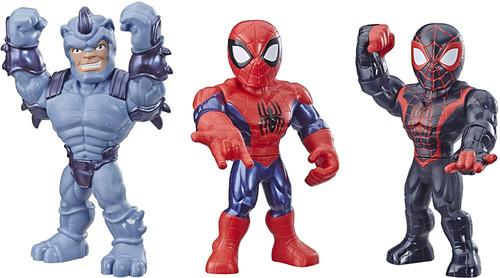 Marvel Playskool Heroes Super Hero Adventures Mega Mighties Action Figure 3-Pack