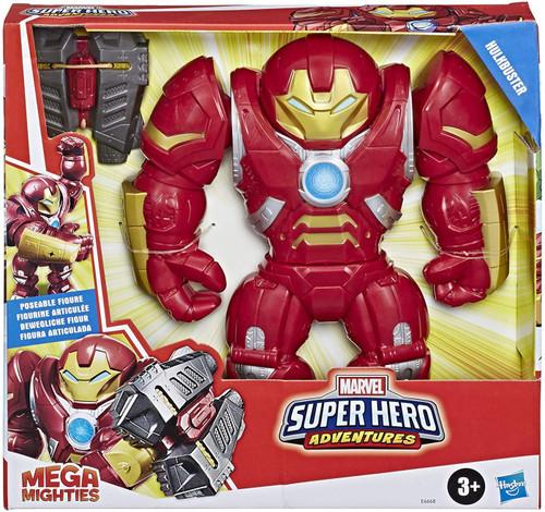 Marvel Playskool Heroes Super Hero Adventures Mega Mighties Hulkbuster Action Figure
