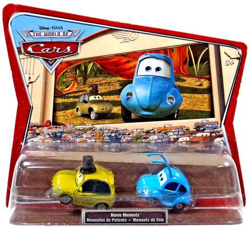 Disney / Pixar Cars The World of Cars Movie Moments Flik & PT Flea Diecast Car 2-Pack [International Packaging]