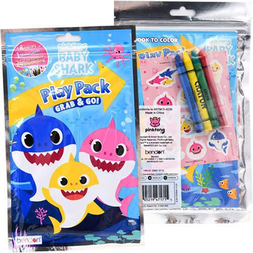 Pinkfong Baby Shark Play Pack Grab & Go