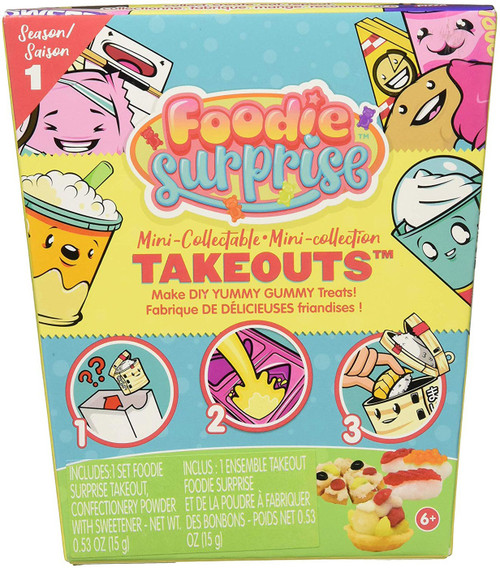 Foodie Surprise Season 1 Takeouts Mystery Pack
