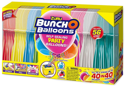 Bunch O Balloons Exclusive 56-Piece Jumbo Pack [Pump Not Included]