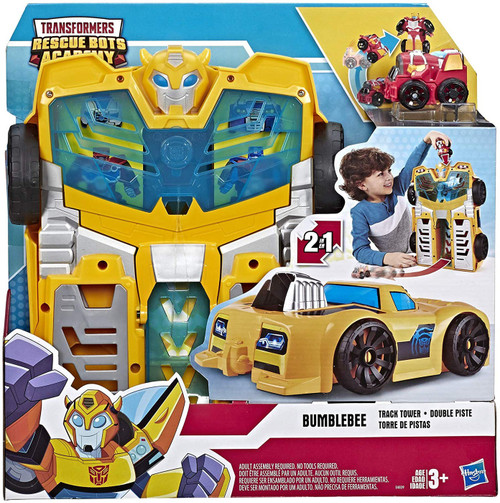 Transformers Playskool Heroes Rescue Bots Academy Bumblebee Track Tower Playset