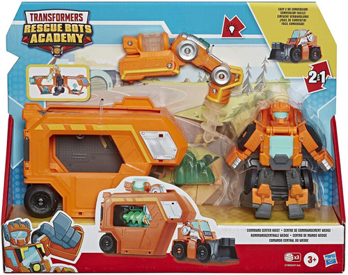 """Transformers Playskool Heroes Rescue Bots Academy Command Center Wedge 4.5"""" Action Figure"""