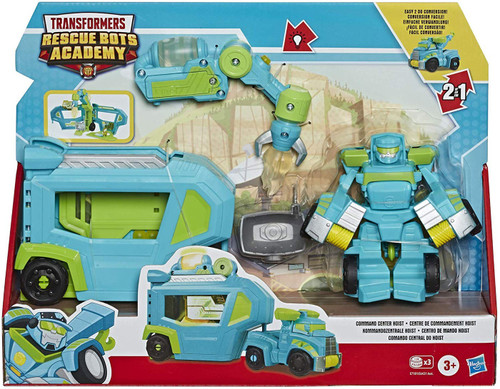 "Transformers Playskool Heroes Rescue Bots Academy Command Center Hoist 4.5"" Action Figure"