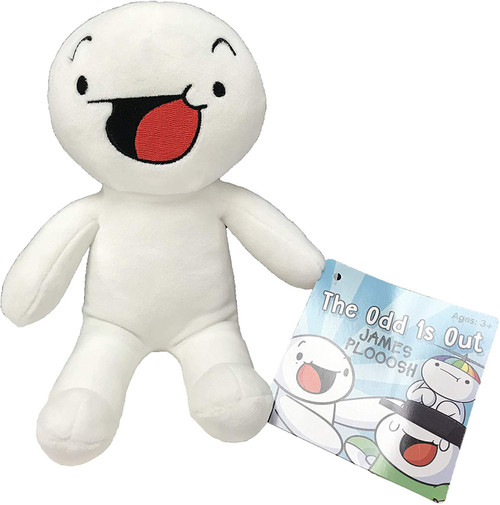 Odd 1s Out James Ploosh 8-Inch Plush