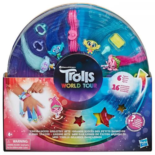 Trolls World Tour Tiny Dancers Greatest Hits 2-Inch Figure Set