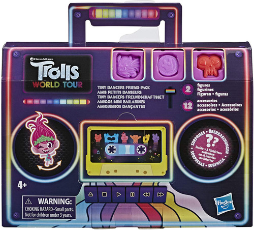 Trolls World Tour Tiny Dancers Friend Pack Mystery 2-Pack