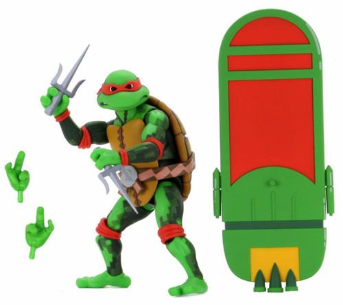 NECA Teenage Mutant Ninja Turtles Turtles in Time Series 2 Raphael Exclusive Action Figure