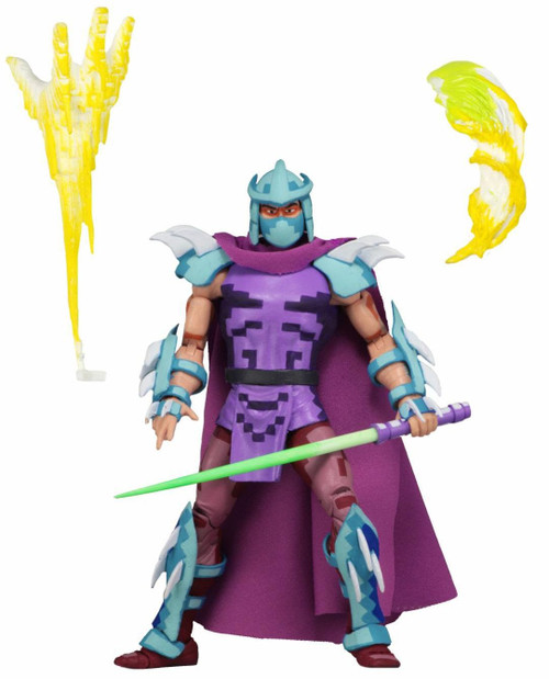NECA Teenage Mutant Ninja Turtles Turtles in Time Series 2 Super Shredder Exclusive Action Figure