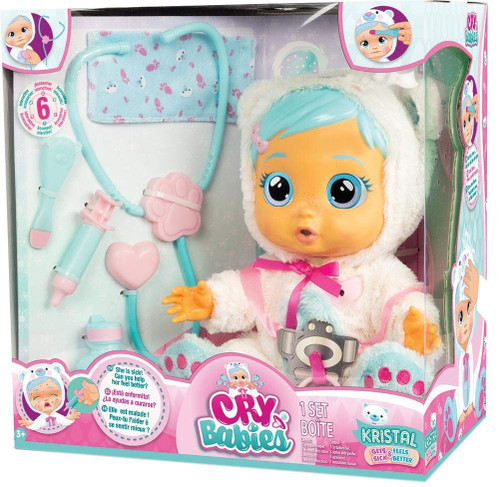 Cry Babies Kristal Deluxe Doll [Damaged Package]