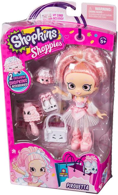 Shopkins Shoppies Pirouetta Exclusive Doll Figure [Exclusive]