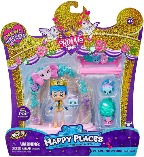 Shopkins Happy Places Royal Trends Wedding Season Charming Wedding Arch Welcome Pack