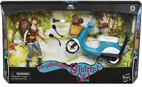 Marvel Legends The Unbeatable Squirrel Girl Action Figure & Vehicle [Scooter]