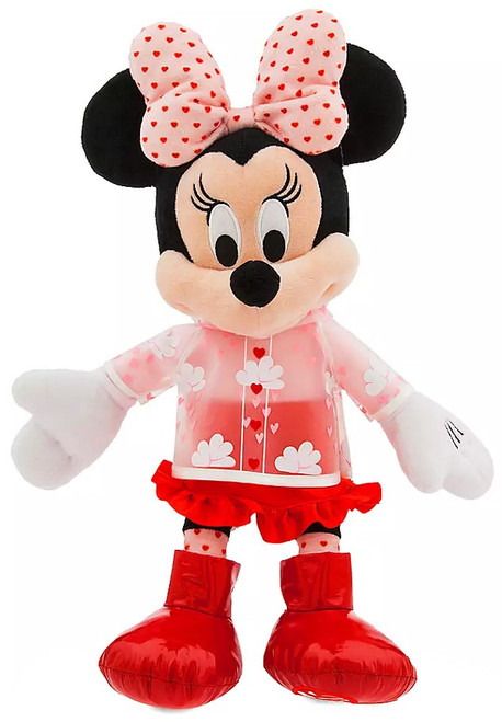 Disney 2020 Valentine's Day Minnie Mouse Exclusive 16-Inch Plush [Rain Gear]