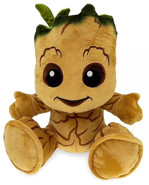 Disney Marvel Guardians of the Galaxy Big Feet Baby Groot Exclusive 10-Inch Plush
