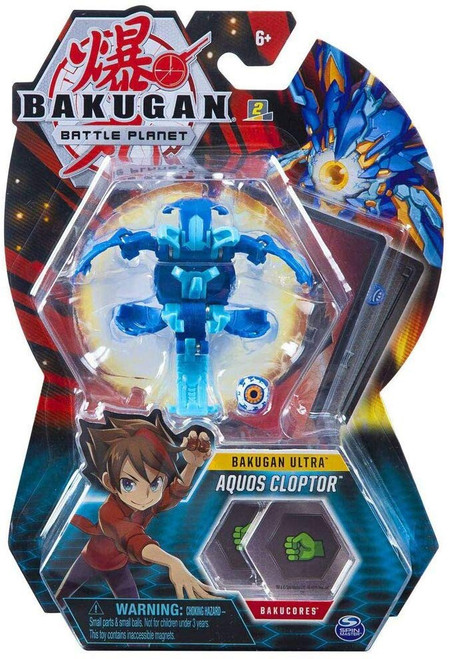 Bakugan Battle Planet Ultra Aquos Cloptor