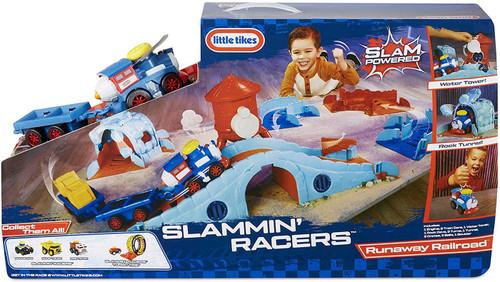 Little Tikes Slammin' Racers Runaway Railroad Playset