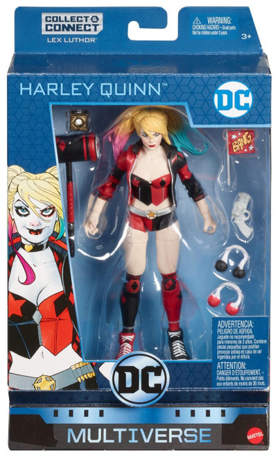 DC Multiverse Lex Luthor Series Harley Quinn Exclusive Action Figure