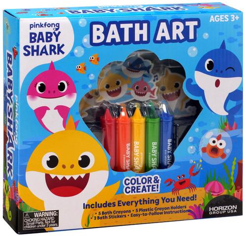 Pinkfong Baby Shark Bath Art