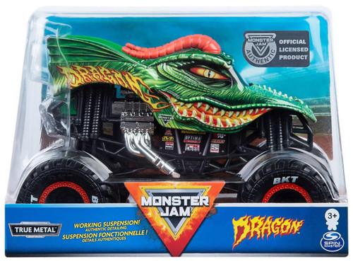 Hot Wheels Monster Jam Dragon Diecast Car [2020]