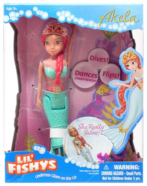 Lil' Fishys Mermaids Akela Motorized Water Doll