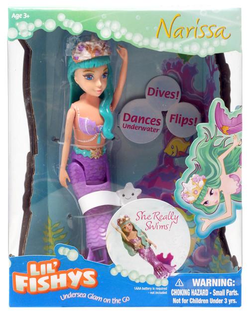 Lil' Fishys Mermaids Narissa Motorized Water Doll