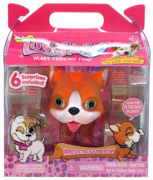 Luvi Pups Corgi Figure [Orange]