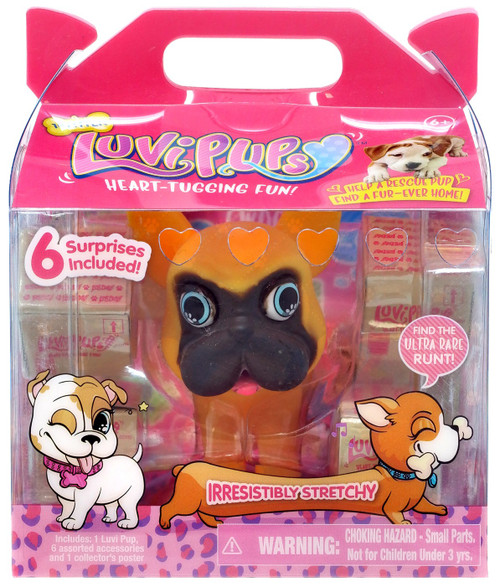 Luvi Pups Frenchie Figure [Brown]